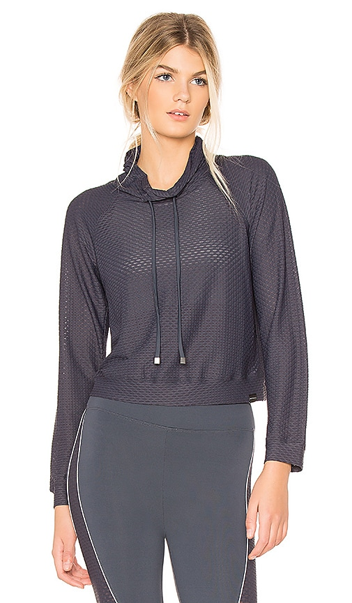 KORAL Pump Pullover in Charcoal