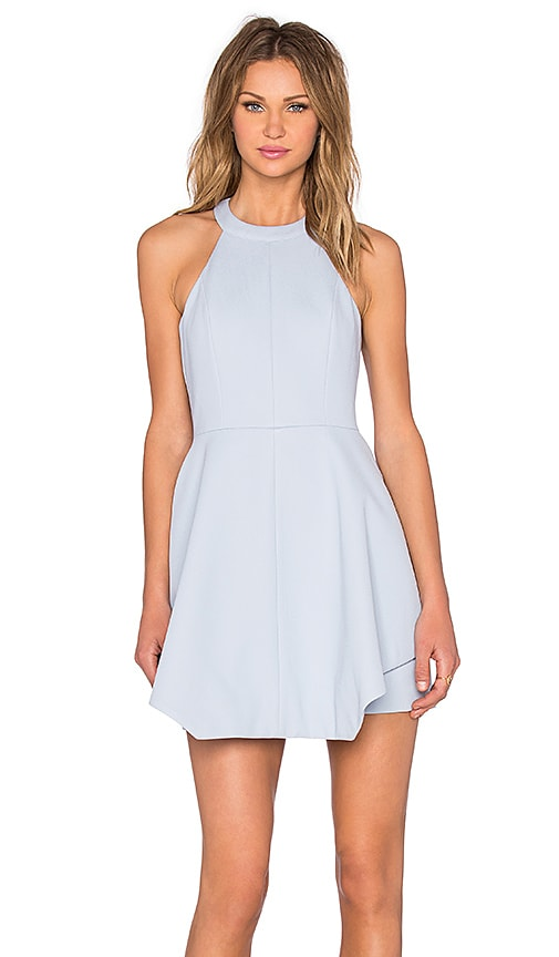 keepsake x REVOLVE To The End Mini Dress in Blue