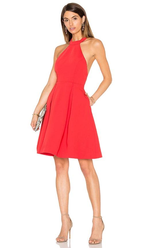 keepsake City Heat Dress in Red