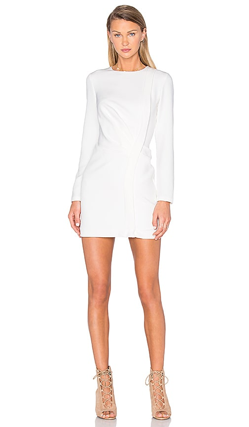keepsake Come Apart Long Sleeve Dress in Ivory