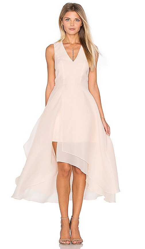 keepsake All Yours Dress in Peach