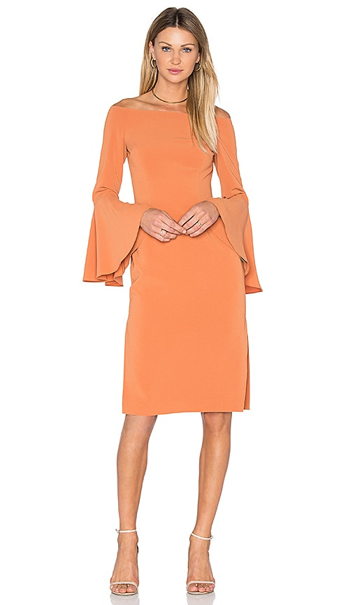 keepsake Harmony Dress in Orange