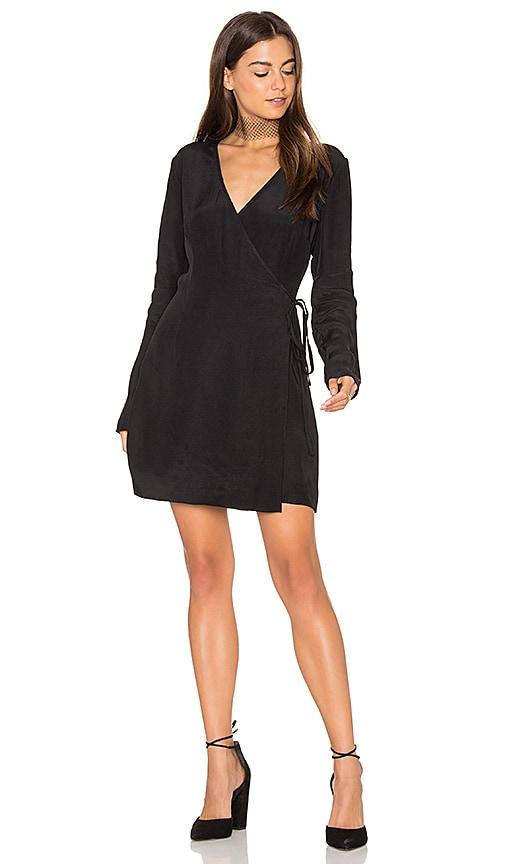 keepsake Capture Long Sleeve Dress in Black
