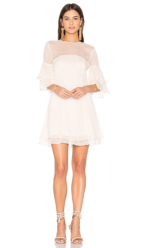 keepsake Say You Will Mini Dress in Ivory