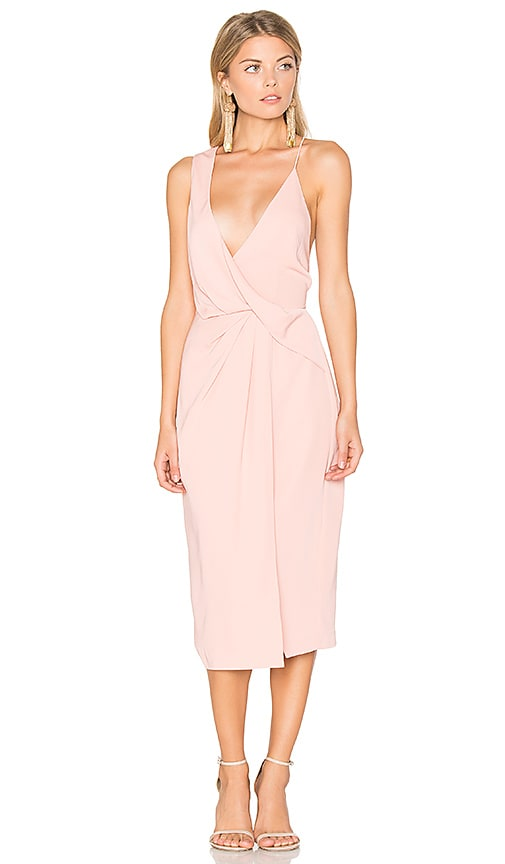 keepsake Without You Dress in Pink