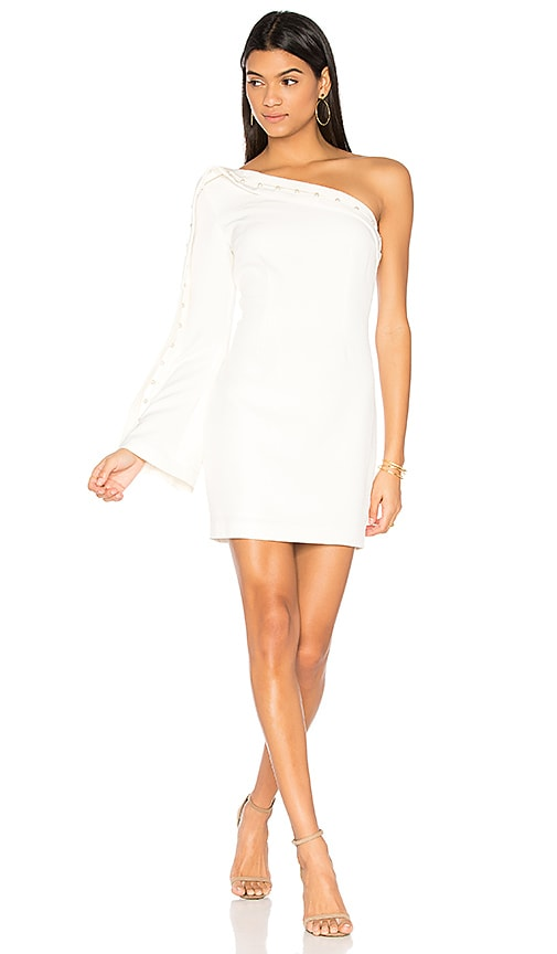 keepsake Signals Mini Dress in Ivory