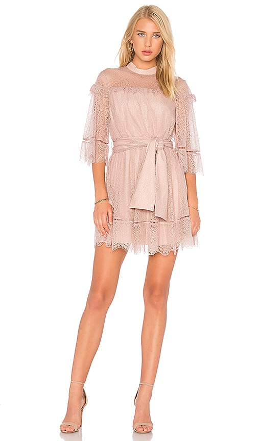 keepsake Slide Mini Dress in Pink
