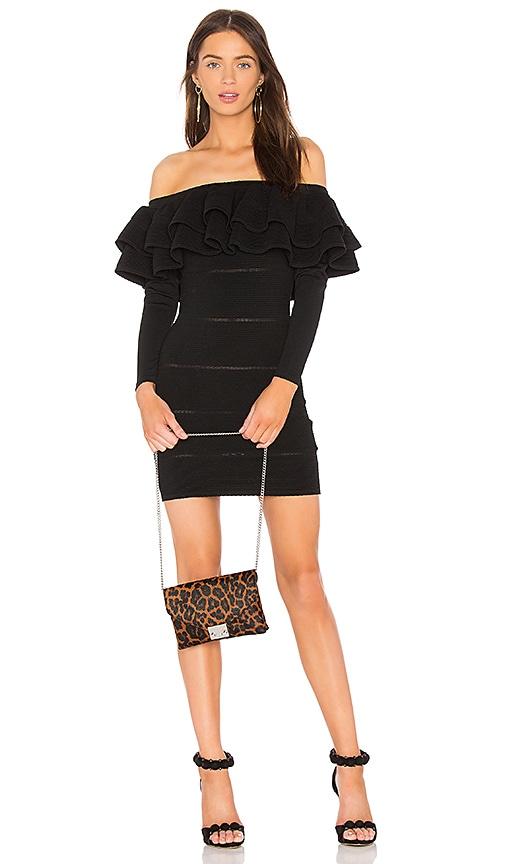 keepsake Over Time Knit Dress in Black