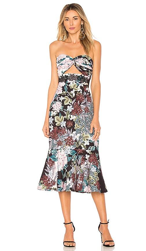b2b89d39332d3 keepsake Lost Dreams Midi Dress in Multi Floral   REVOLVE