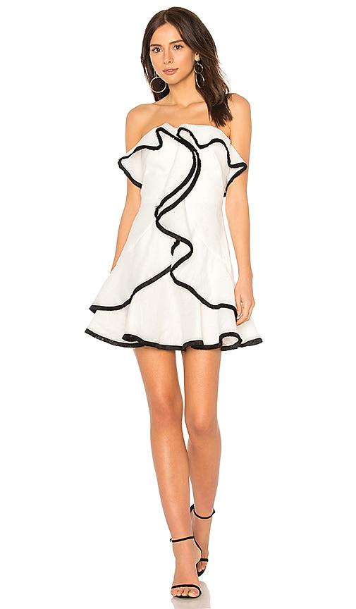 keepsake My Everything Mini Dress in Ivory