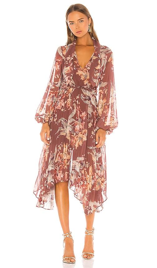 Unravel Midi Dress by Keepsake