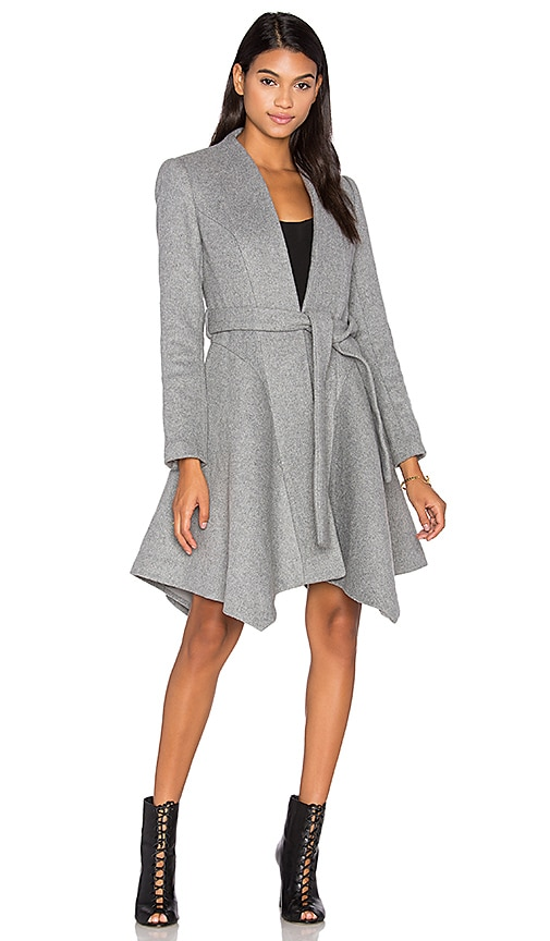 keepsake Mocking Bird Coat in Gray