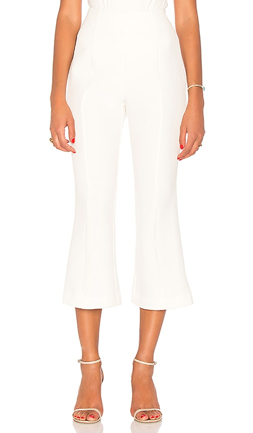 keepsake Drift Cropped Pant in Ivory
