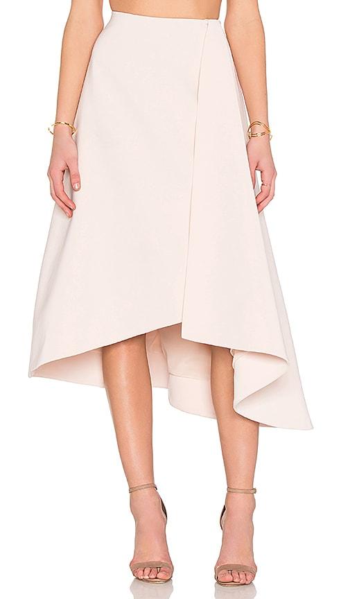 keepsake Scribe Skirt in Shell