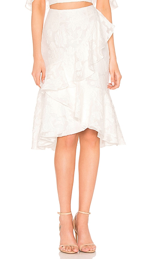 Keepsake Radar Skirt in Ivory