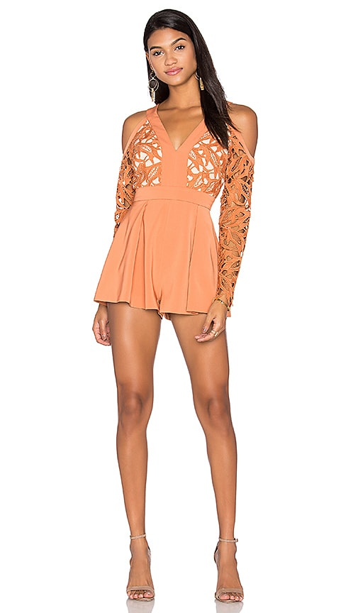The Moment Lace Romper