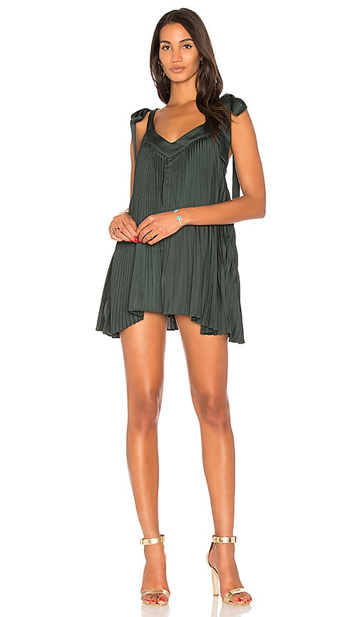 keepsake Deep Water Romper in Green