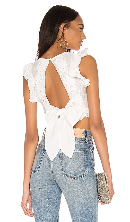 Only Surrender Top In Ivory