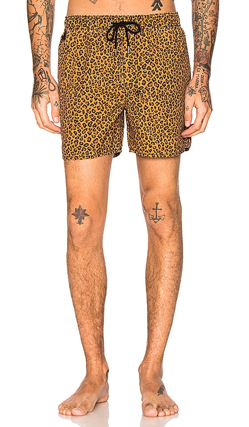 Ksubi Prince Boardshort in Brown