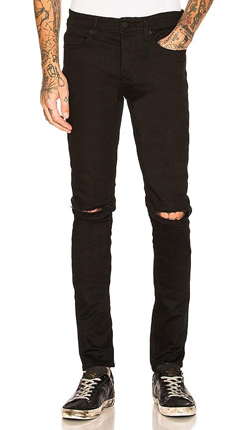 Van Winkle Ace Slice Jeans in Black