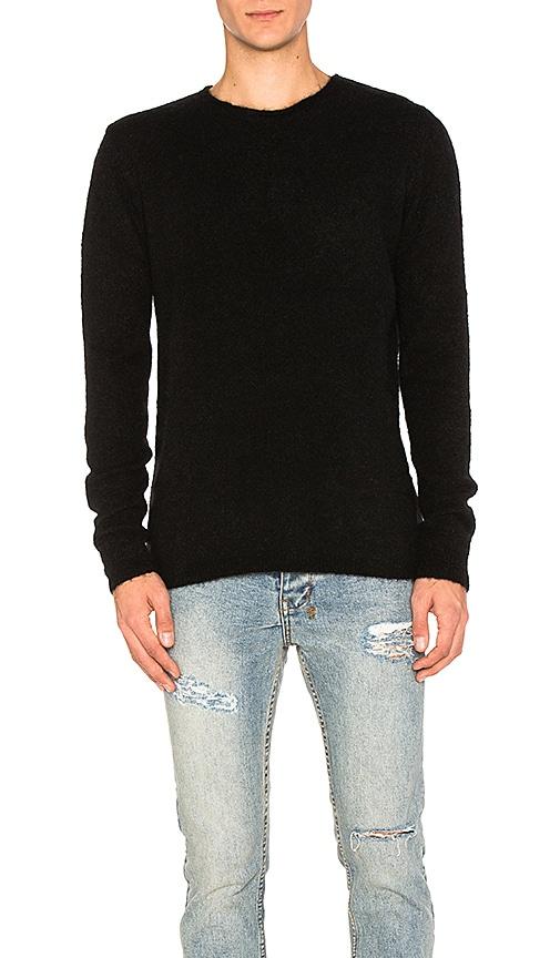 Ksubi Interpol Crew Knit Sweater in Black
