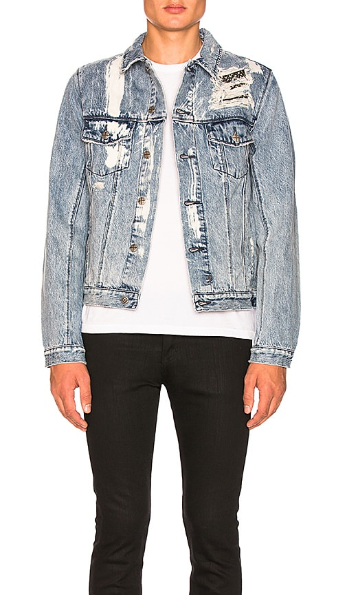 Ksubi Classic Rattle Trash Jacket in Blue