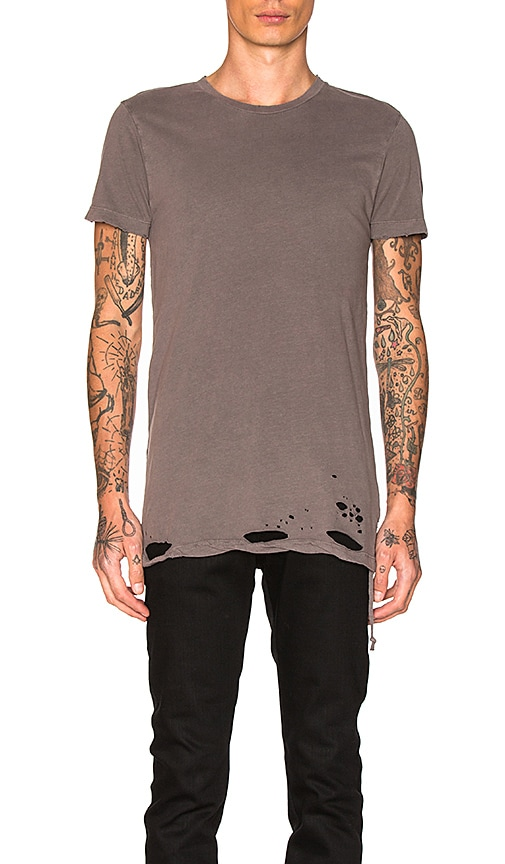 Ksubi Sioux Tee in Gray