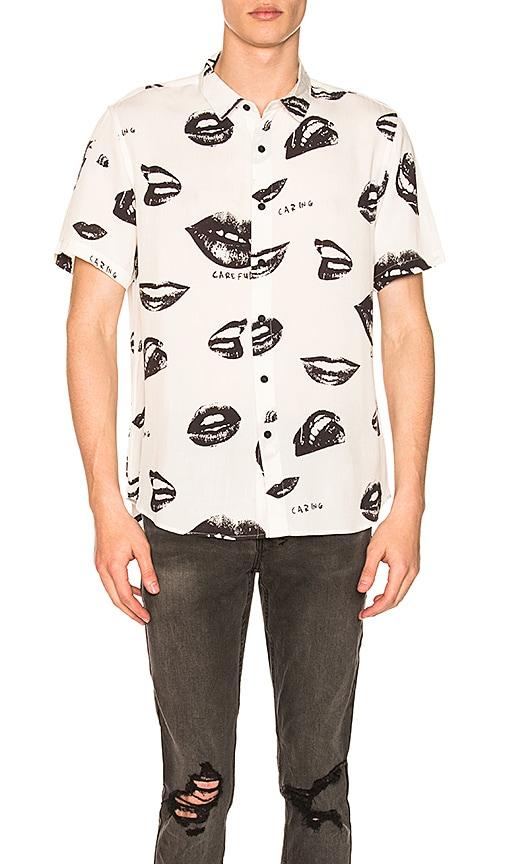 Ksubi Read My Lips Shirt in White