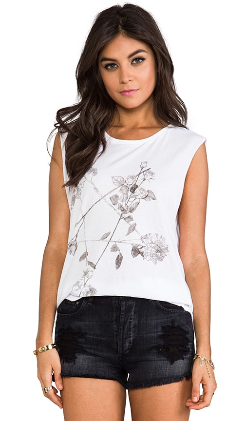 Floral Star Tee