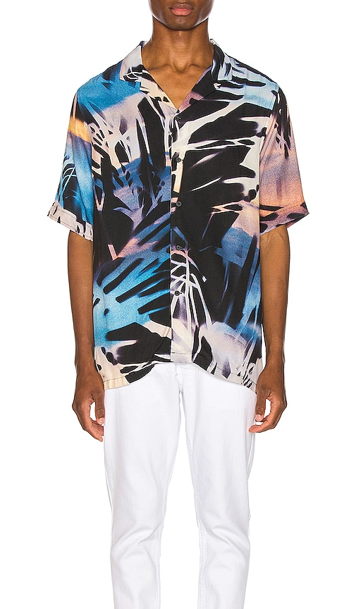 Palms Resort Print Shirt