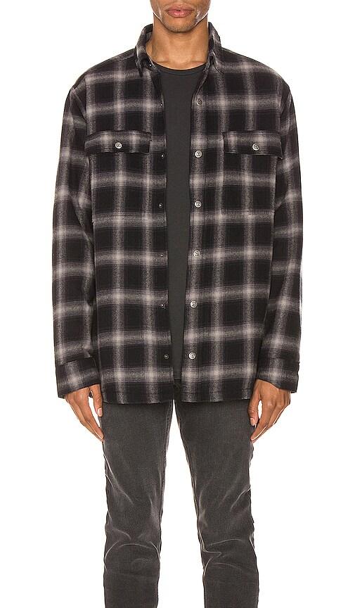 Ksubi Strata Plaid Button-up Flannel Shirt Jacket In Multi