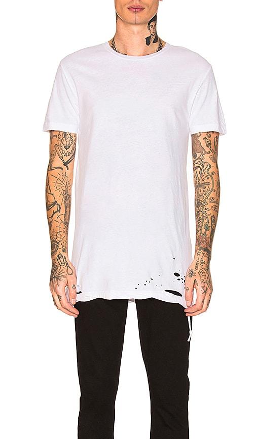 Ksubi Sioux Short Sleeve T-shirt In 010 White