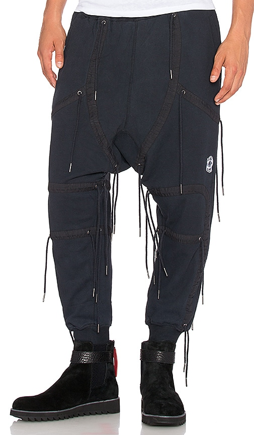 KTZ Sweatpant in Black Washed