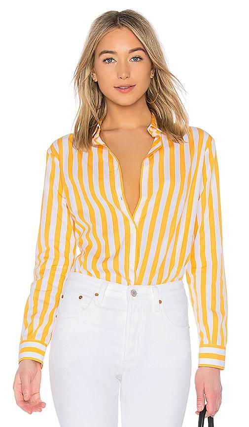 Kule The Hutton Shirt in Yellow