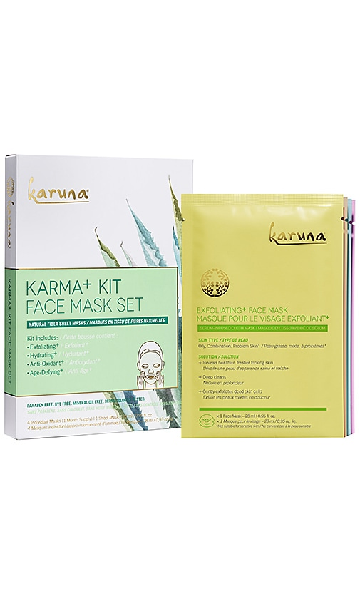 Karma Kit+ Face Mask Kit 4 Pack