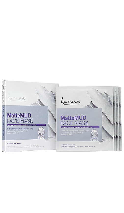 MatteMUD Face Mask 4 Pack