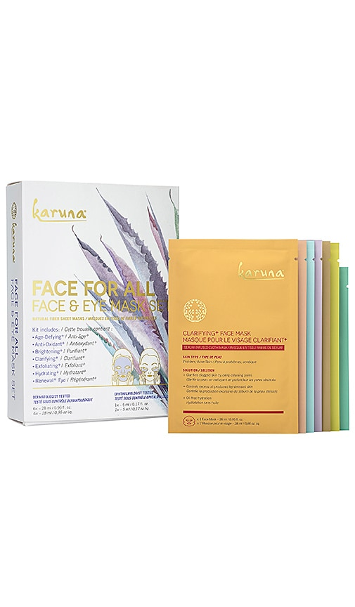 Face For All Face & Eye Mask Set