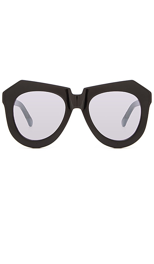 fbad0a7c0b9a Karen Walker Superstars One Worship in Black & Silver Mirror | REVOLVE