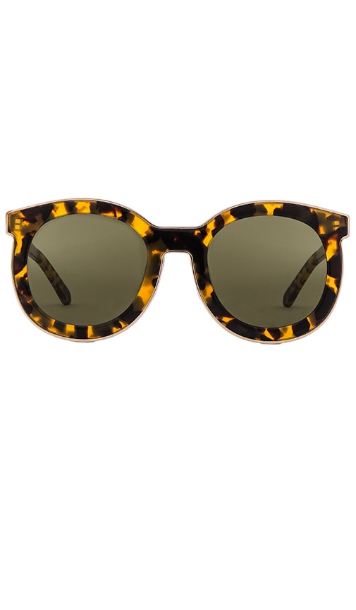 edea131a890 Karen Walker Super Spaceship in Crazy Tort   Gold