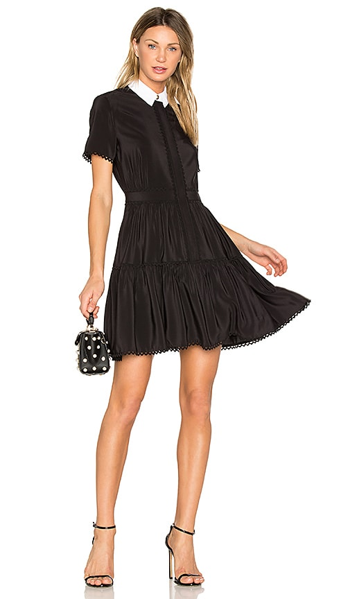5dac78caa9 Kenzo Silk Mini Dress in Black