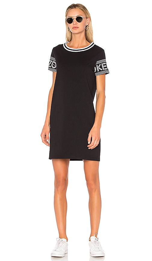 Kenzo Sport T-Shirt Dress in Black