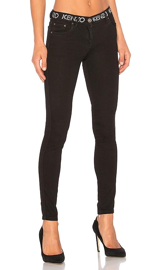 Kenzo Skinny Jean in Black