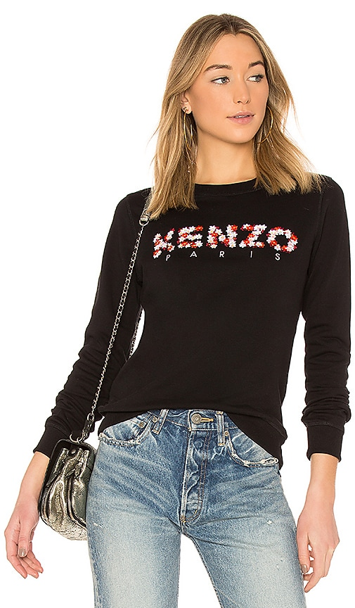 Kenzo Classic Crewneck Sweatshirt in Black