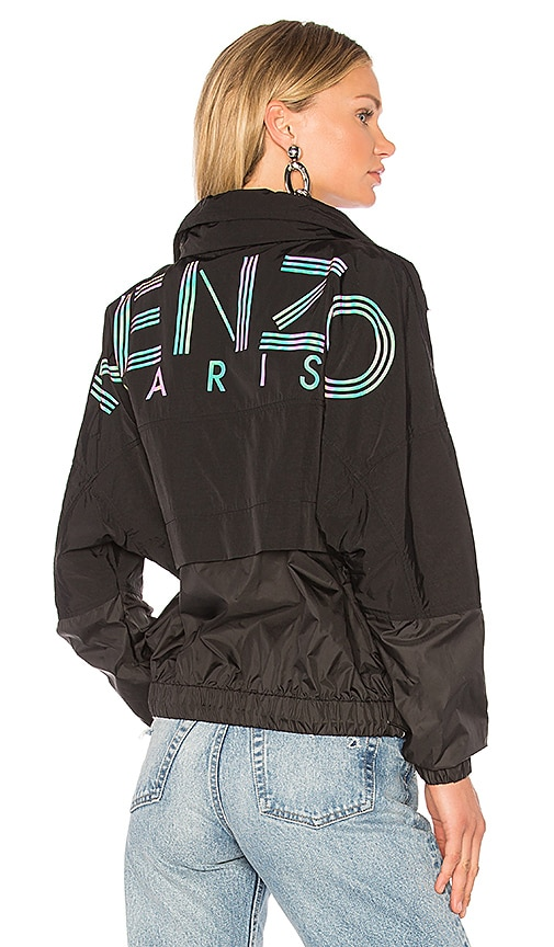 Kenzo Windbreaker in Black