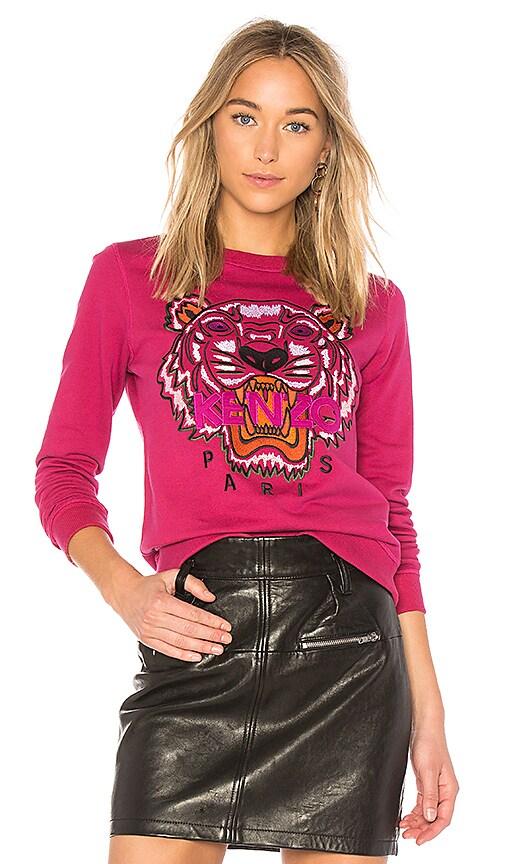 Kenzo Tiger Classic Sweatshirt in Pink
