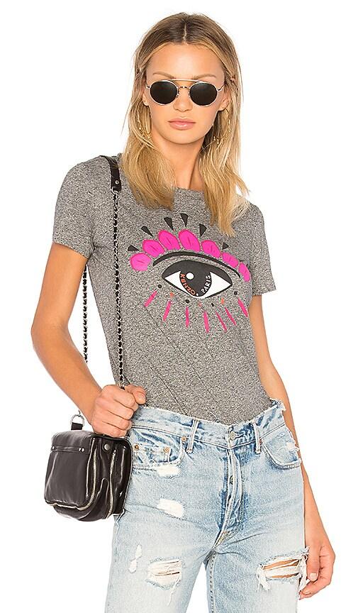 Kenzo Eye Classic T-Shirt in Gray