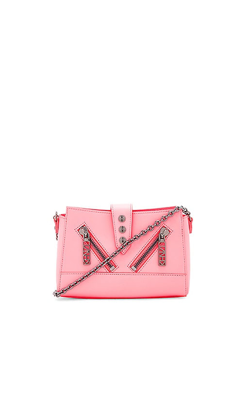 Kenzo Mini Shoulder Bag in Coral