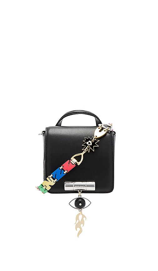 Kenzo Cory Crossbody Bag in Black