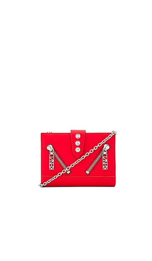 Kenzo Gommato Shoulder Bag in Red