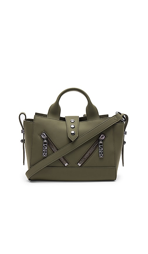 Kenzo Kalifornia Mini Tote Bag in Olive